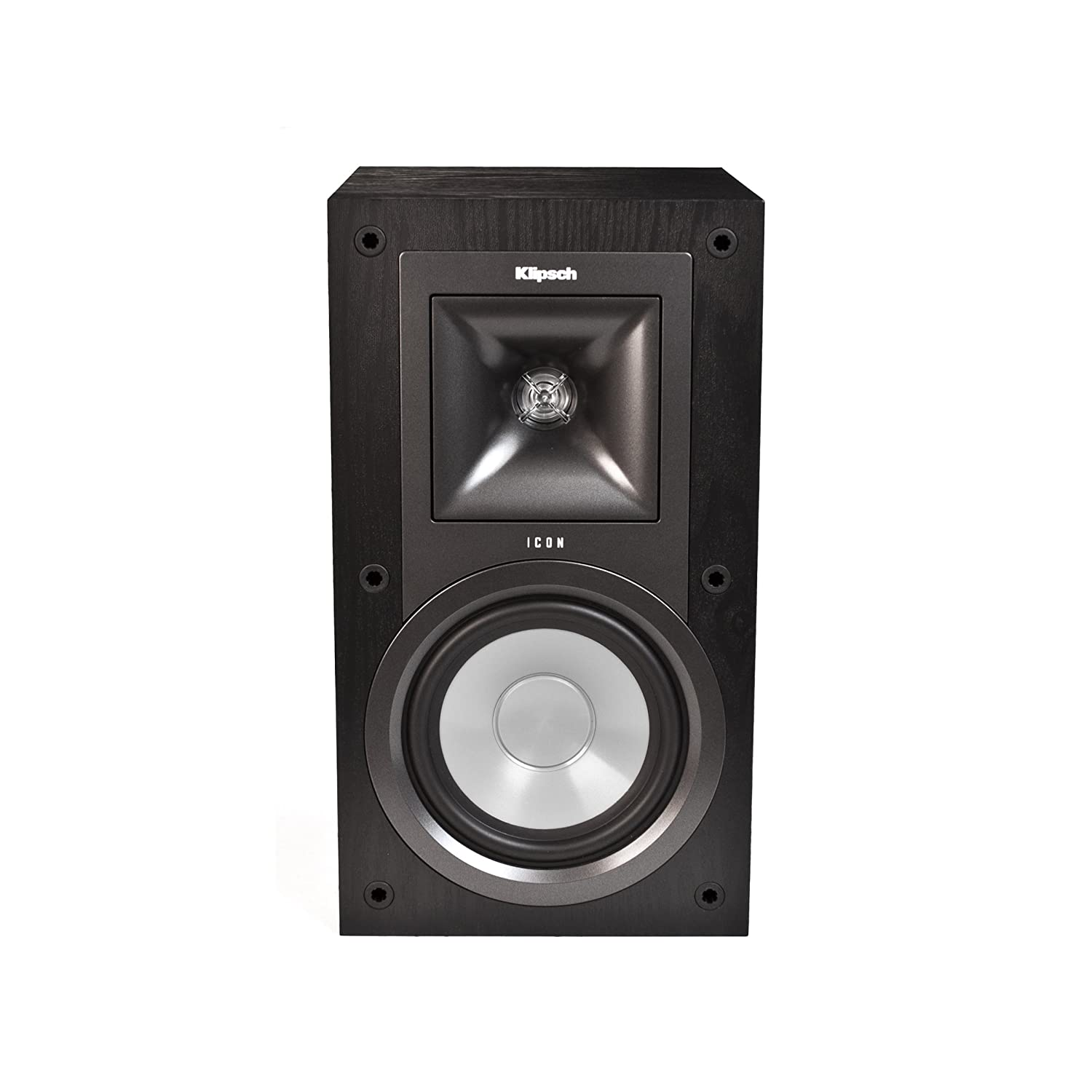 Amazon Klipsch KB 15 Icon 5 1 4 Inch 2 Way Bookshelf Speakers Black Ash Set Of Home Audio Theater