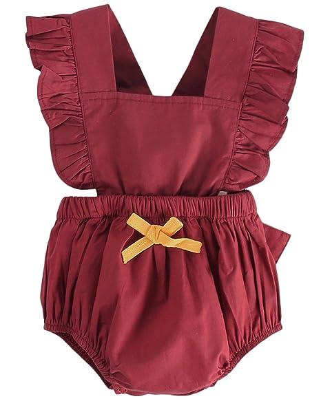 Amazon.com: DeerBird - Traje de neonato para bebé y niña con ...