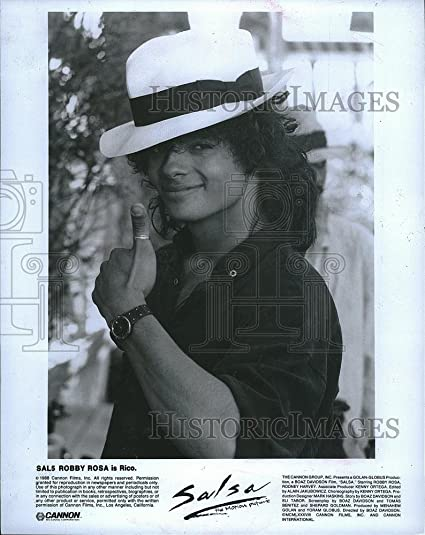 Historic Images 1988 Press Photo Robby Rosa Stars In Salsa As Rico