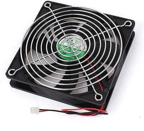 Rarido 120mm x 25mm DC 24V 4Pin Sleeve Bearing Computer Case Cooling Fan