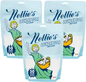 Nellie's Laundry Detergent Soda - 50 Load - Pack of 3