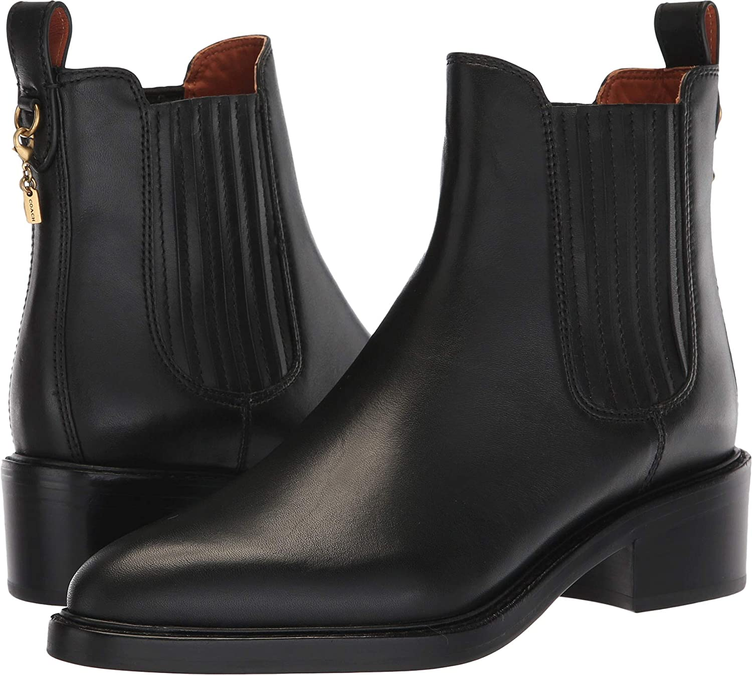 COACH Bowery Chelsea Bootie Black