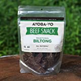 Biltong - Air Dried Steak Slices, Gluten Free, 0% Sugar, 4oz