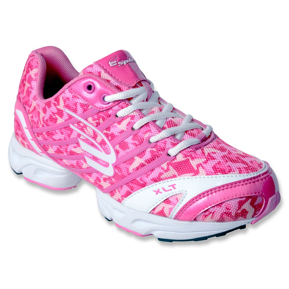Spira Women's XLT Camo Limited Edition Running Sneakers B00FEXDJFG 7.5 B(M) US|Pink/White