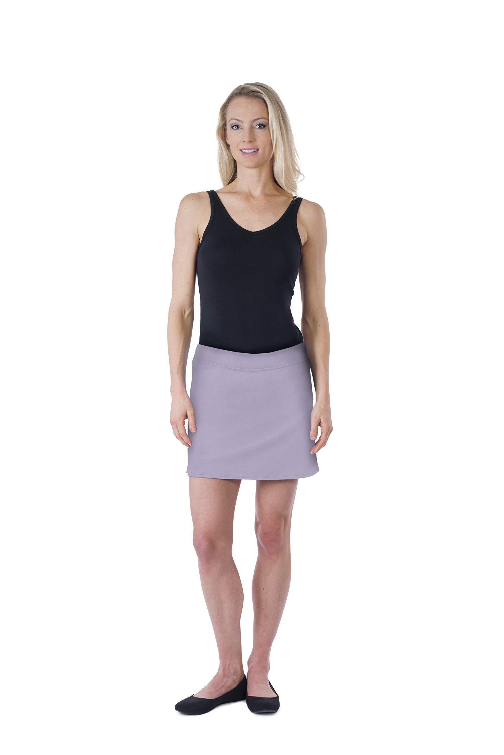 Colorado Clothing Women's Everyday Skort (Iris, Medium) by Colorado Clothing