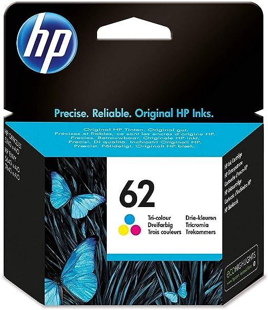 HP 62 - Tinta tricolor: Hp: Amazon.es: Oficina y papelería
