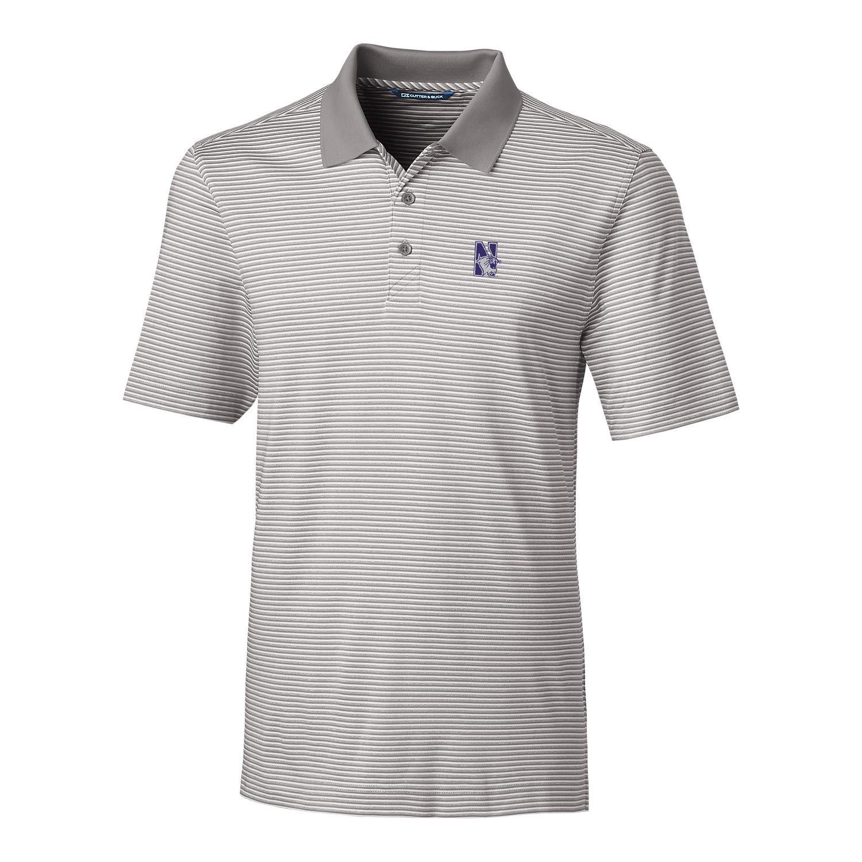 Polished Large NCAA Mens Short Sleeve Tonal Stripe Forge Polo