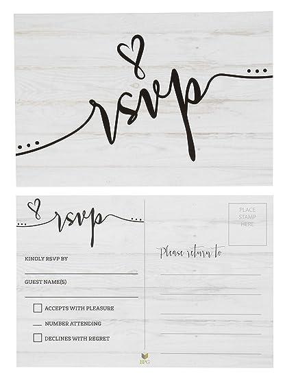 Wedding Response Cards.Rsvp Cards 60 Pack Rsvp Postcards Response Return Card For Wedding Rehearsal Dinner Baby Shower Bridal Shower Birthday Party Invitation No