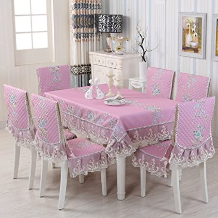 65d098c2ec5 Tablecloth CLOTHES UK- European-style Table-Cloth Chair Covers Cushions  Set