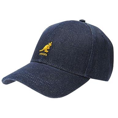 2b73fab0af0860 Kangol Mens Baseball Cap Denim One Size: Amazon.co.uk: Clothing