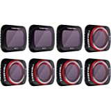 Freewell All Day - 4K Series - 8Pack Filters Compatible with Mavic Air 2 Drone (NOTCompatible withAIR 2S)