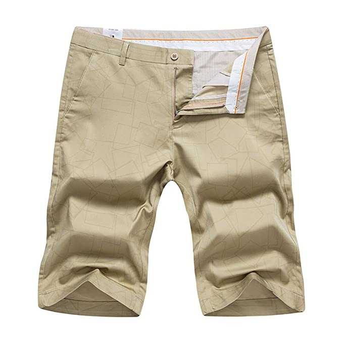 WULAI Hombre Verano Playa Leisure Shorts Ropa