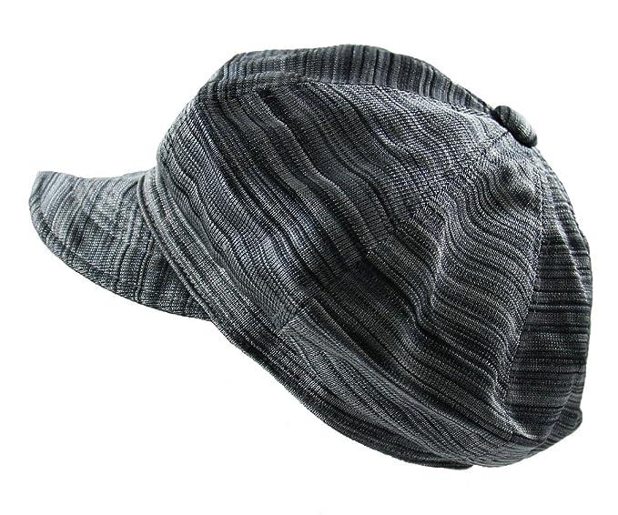 NY Ladies Newsboy Caps (Black Gray) at Amazon Women s Clothing store  0e3c32d4f3