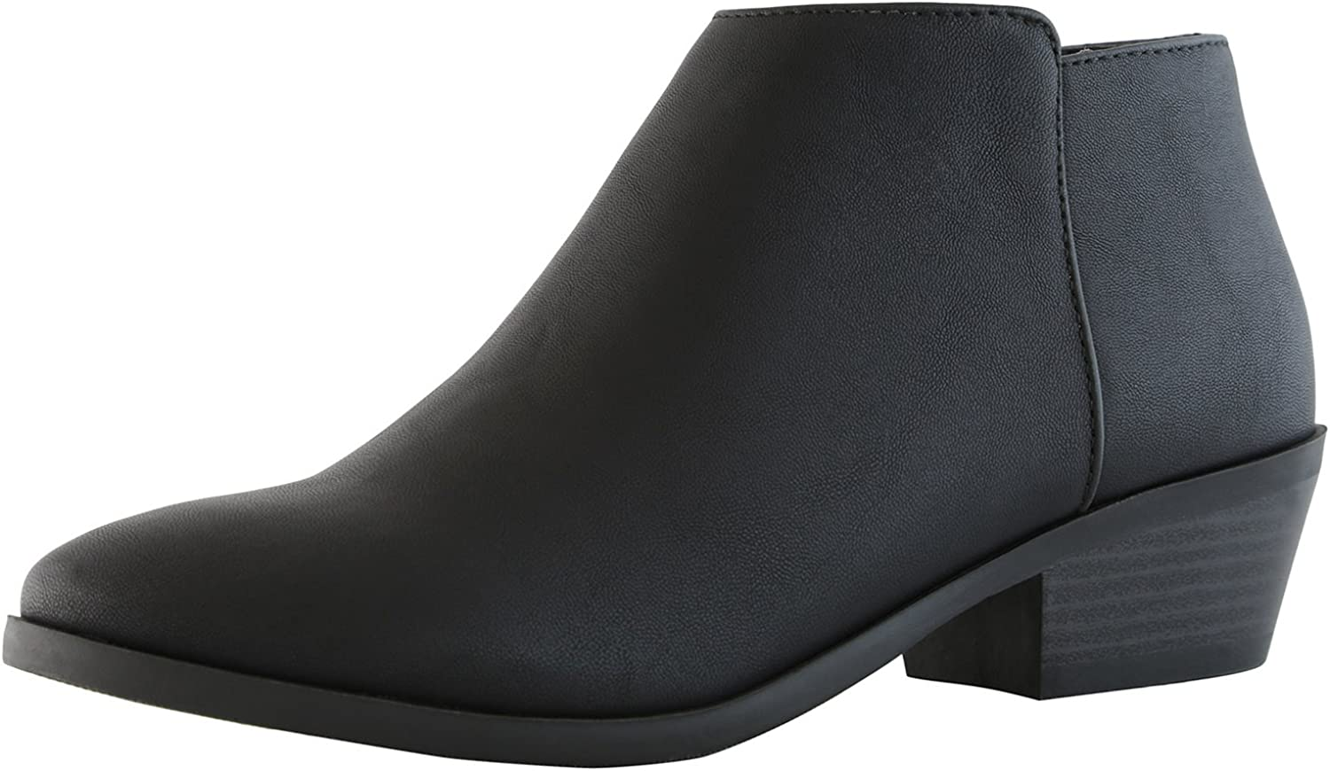 DailyShoes Women's Western Cowboy Bootie - Ultra Comfortable Chayo-01