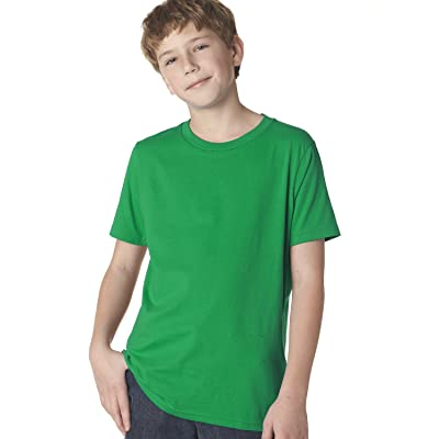 Next Level 3310 Boy's Short-Sleeved Cotton Crew Shirt