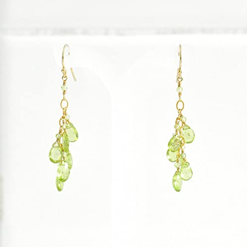 Amazon peridot earrings august birthstone earrings green peridot earrings august birthstone earrings green stone earrings peridot chandelier earrings wedding mozeypictures Choice Image