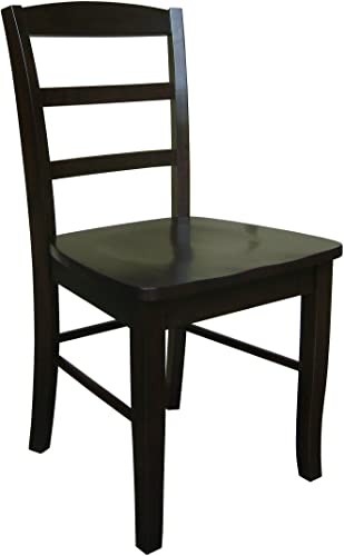 International Concepts Madrid Ladderback Dining Chair
