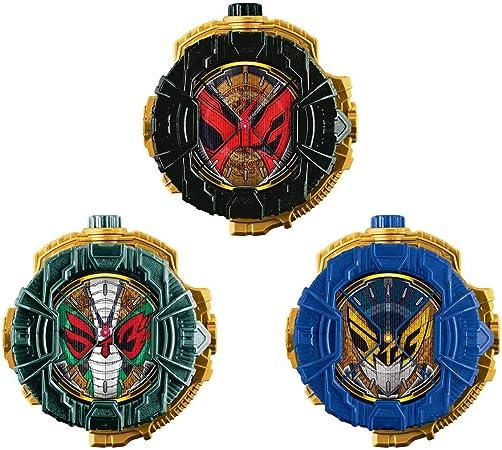 Bandai Kamen Rider Zi-O DX Barlckxs Zonjis Zamonas Ride Watch Set