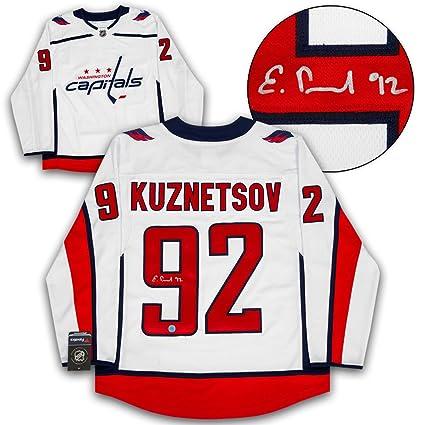 Image Unavailable. Image not available for. Color  Evgeny Kuznetsov  Washington Capitals Autographed Fanatics ... 503c9405d