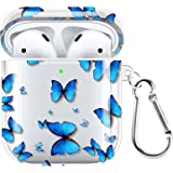 POKABOO for AirPods Case, Clear Soft TPU Protective Cover Case for AirPods 2 & 1 Wireless Charging Case AirPods Accessories S