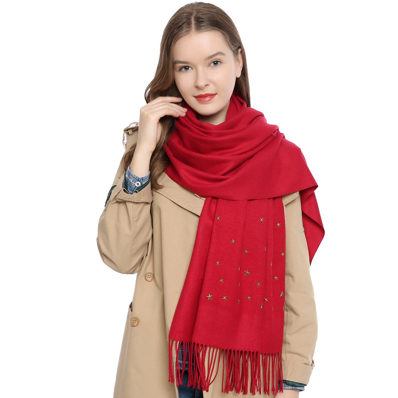 FOULARD CRHYSTAL GOGO Bufanda para Mujer Rojo  (Red 3105 ) Desigual ... d5211dbdcc84