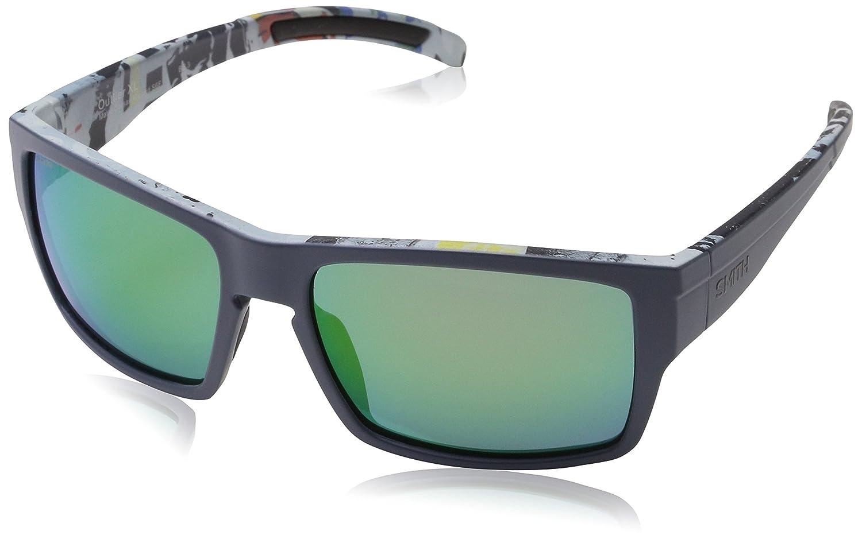 7c9db75359 Sunglasses Smith Outlier Xl S 0S6F Blue Pattern   X8 grnmltlyrchromp lens  at Amazon Men s Clothing store