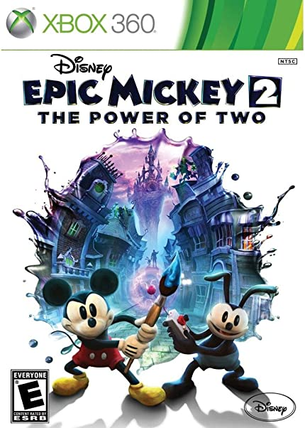 Image result for Disney Epic Mickey 2: The Power of Two xbox 360