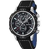 Festina Herren-Armbanduhr XL Sport Chronograph Quarz Textil F16566/6