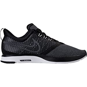 brand new 57fb7 99eb5 NIKE Womens Zoom Strike Fabric Low Top Lace up Running Sneaker