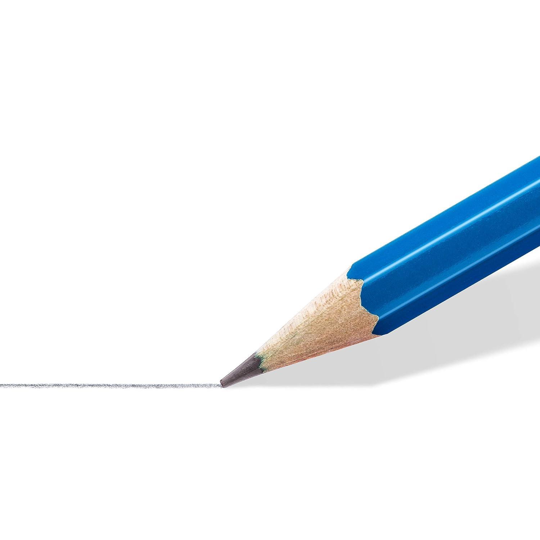 alta qualit/à e resistenza gradazione 2B STAEDTLER matite Mars Lumograph confezione da 12 matite da disegno 100-2B