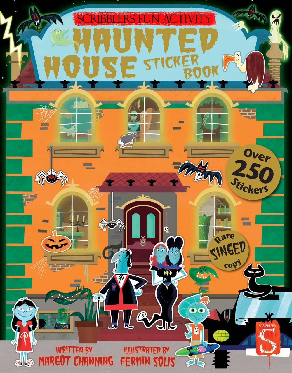 Haunted House Sticker Book (Scribblers Fun Activity)