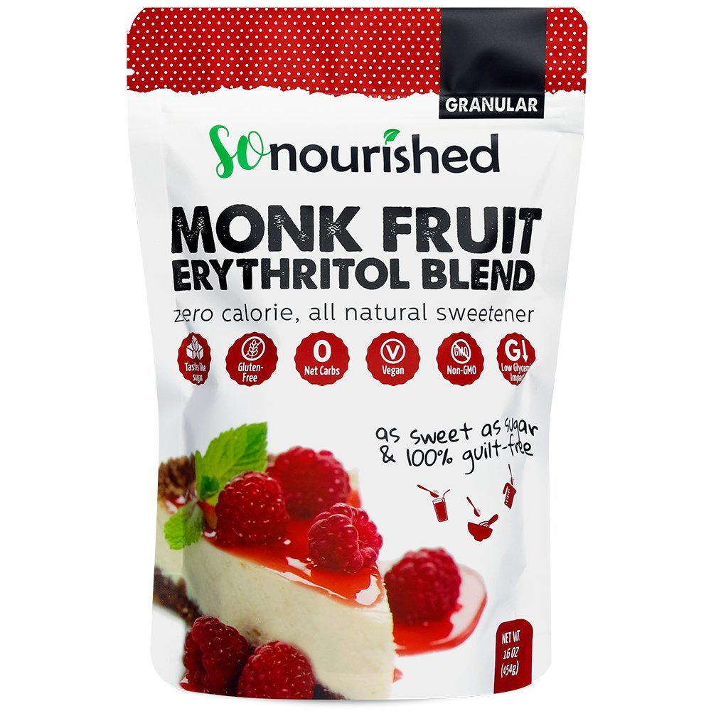 Granular Monk Fruit + Erythritol Sweetener