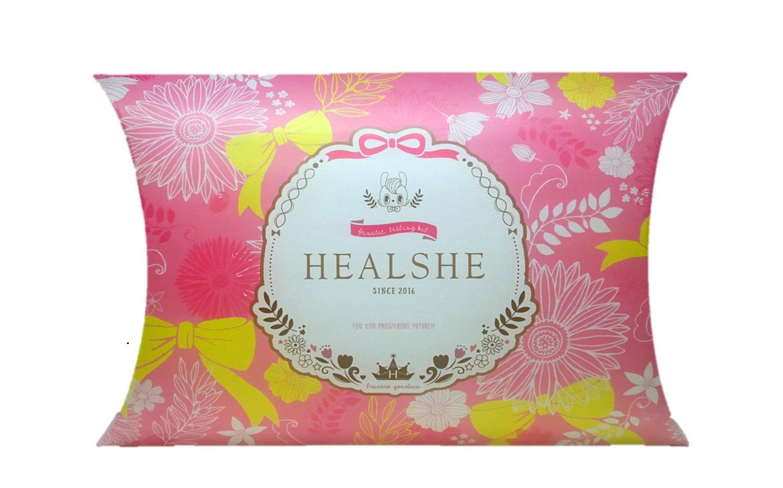 女性の体質検査キット HEALSHE(ヘルシー) B01N6ZF1EV