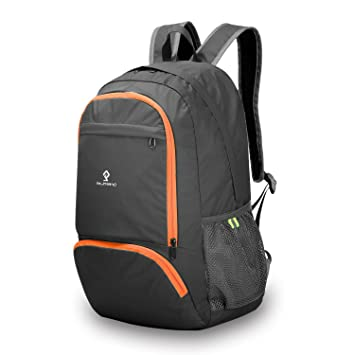 d7d24847fa1 Image Unavailable. Image not available for. Color  Foldable Backpack For  Travel, KuKoTi 24L Ultra Lightweight Packable Water Resistant ...