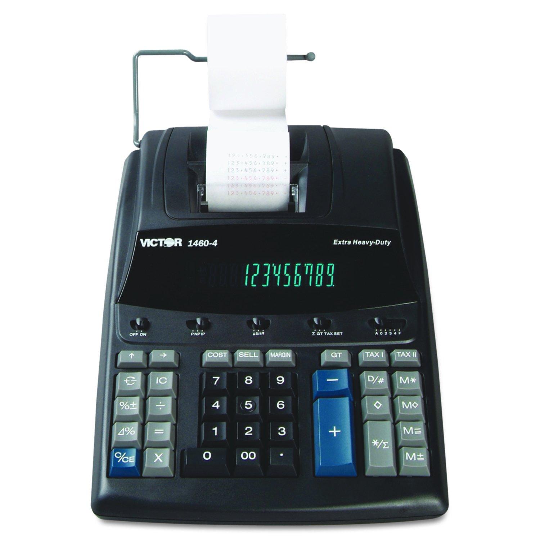 Amazon.com : Victor 1460-4 12 Digit Extra Heavy Duty Commercial Printing  Calculator : Printing Calculators : Electronics