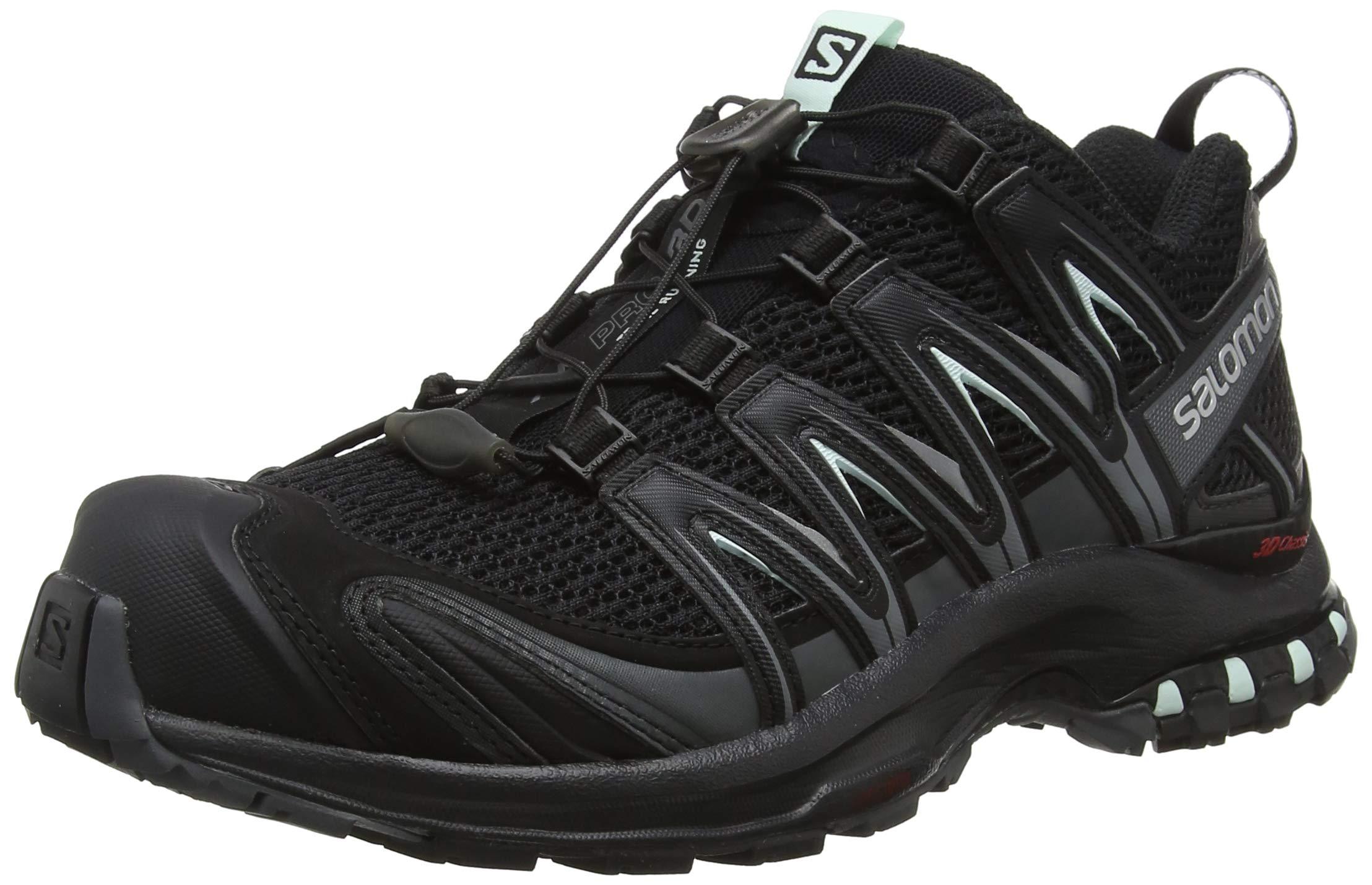 Salomon Women's XA PRO 3D W Trail Runner, Black, 5 M US