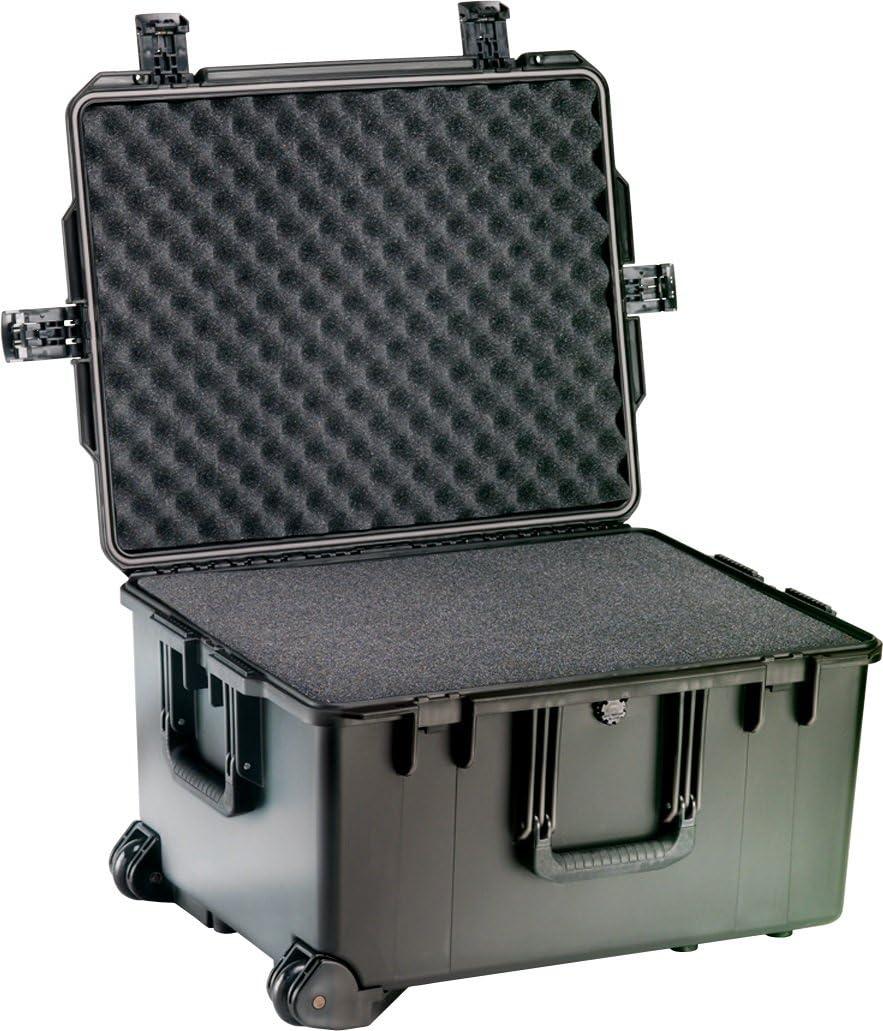 PELI Storm IM2750 Maleta Grande Profesional con Ruedas para cámaras, Drones y Otros Materiales frágiles, 78L de Capacidad, Fabricada en EE.UU, sin Espuma, Color Negro: Amazon.es: Electrónica
