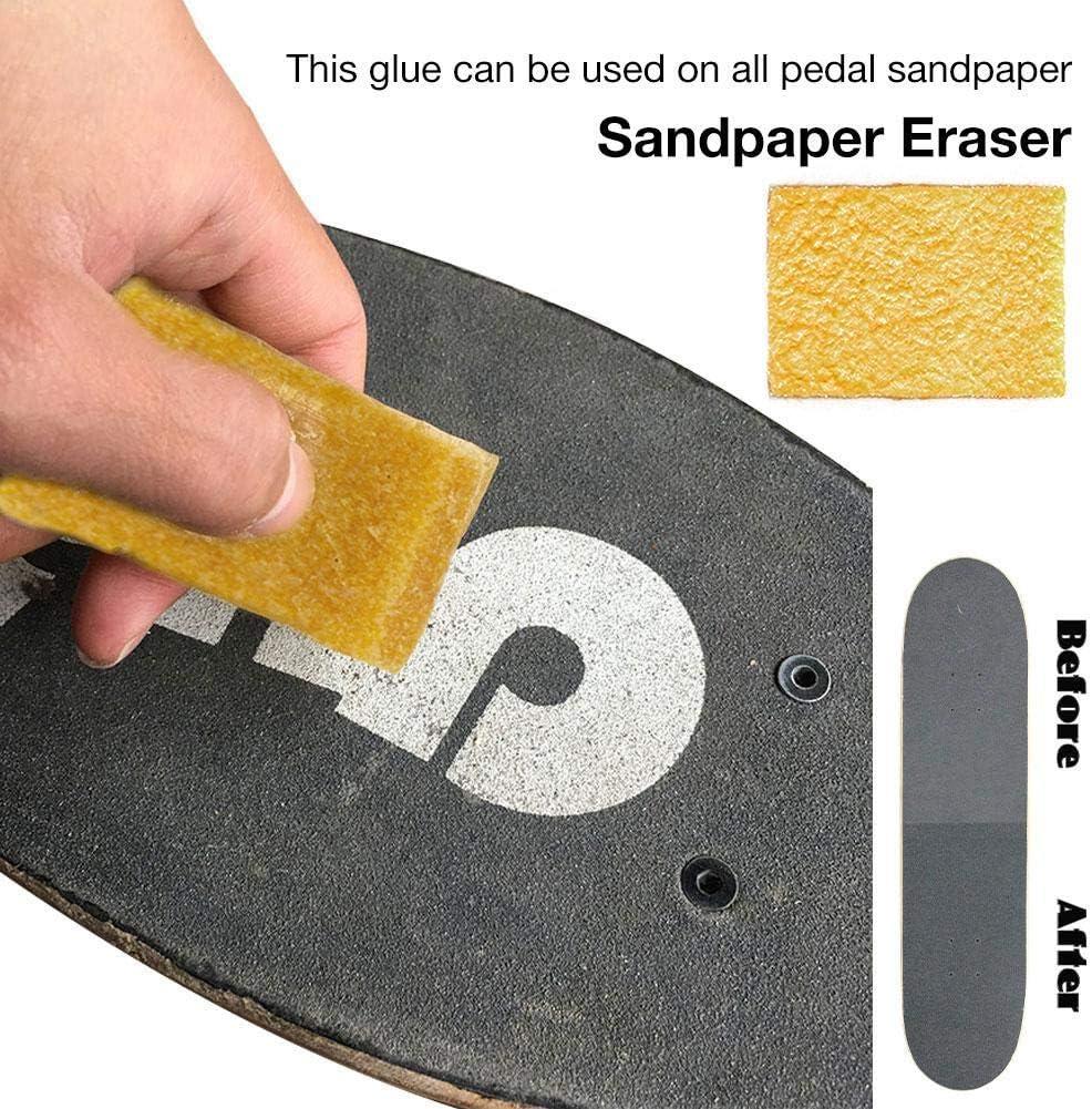 Selbstklebende Aufkleber DIY Pers/önlichkeit Schleifpapier Passt die Meisten Roller Outdoor Sports Supplies Skateboard Griptape