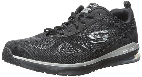 Skechers Herren Skech Air Infinity Sneaker, Black (BBK Black)
