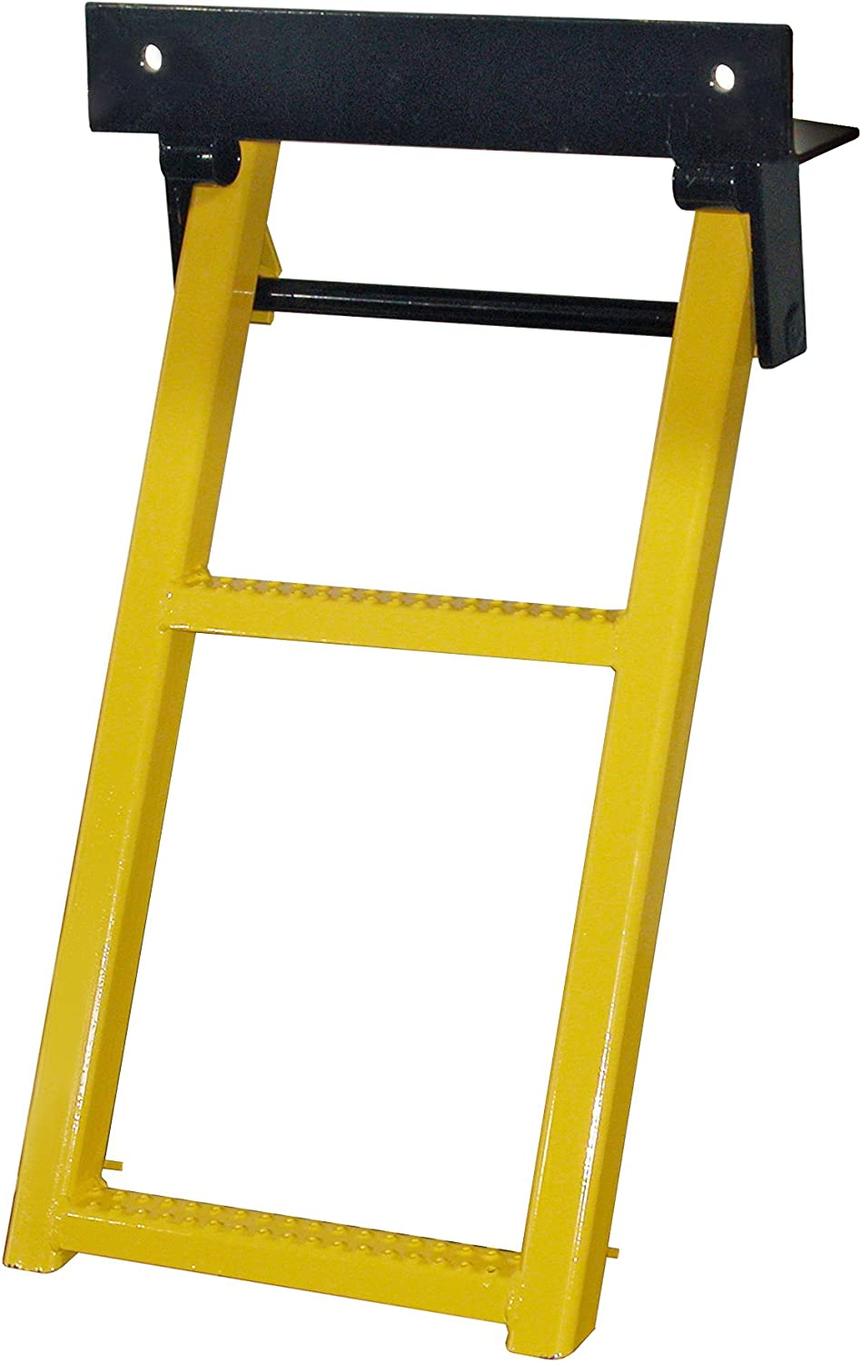 Buyers Products RS2 Black 2-Rung Retractable Truck Step