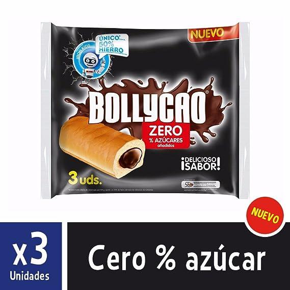 Bollycao Zero - Paquete de 3 x 60 gr - Total: 180 gr