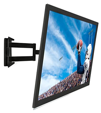 Mount-It! Articulating TV Wall Mount Low-Profile Full Motion Design for 32