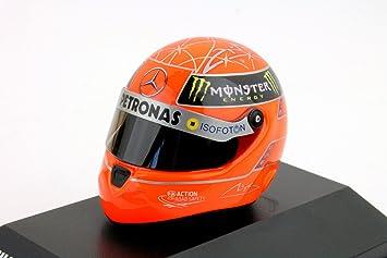 Michael Schumacher Miniatura Replica Casco 1:8 Edición 2012