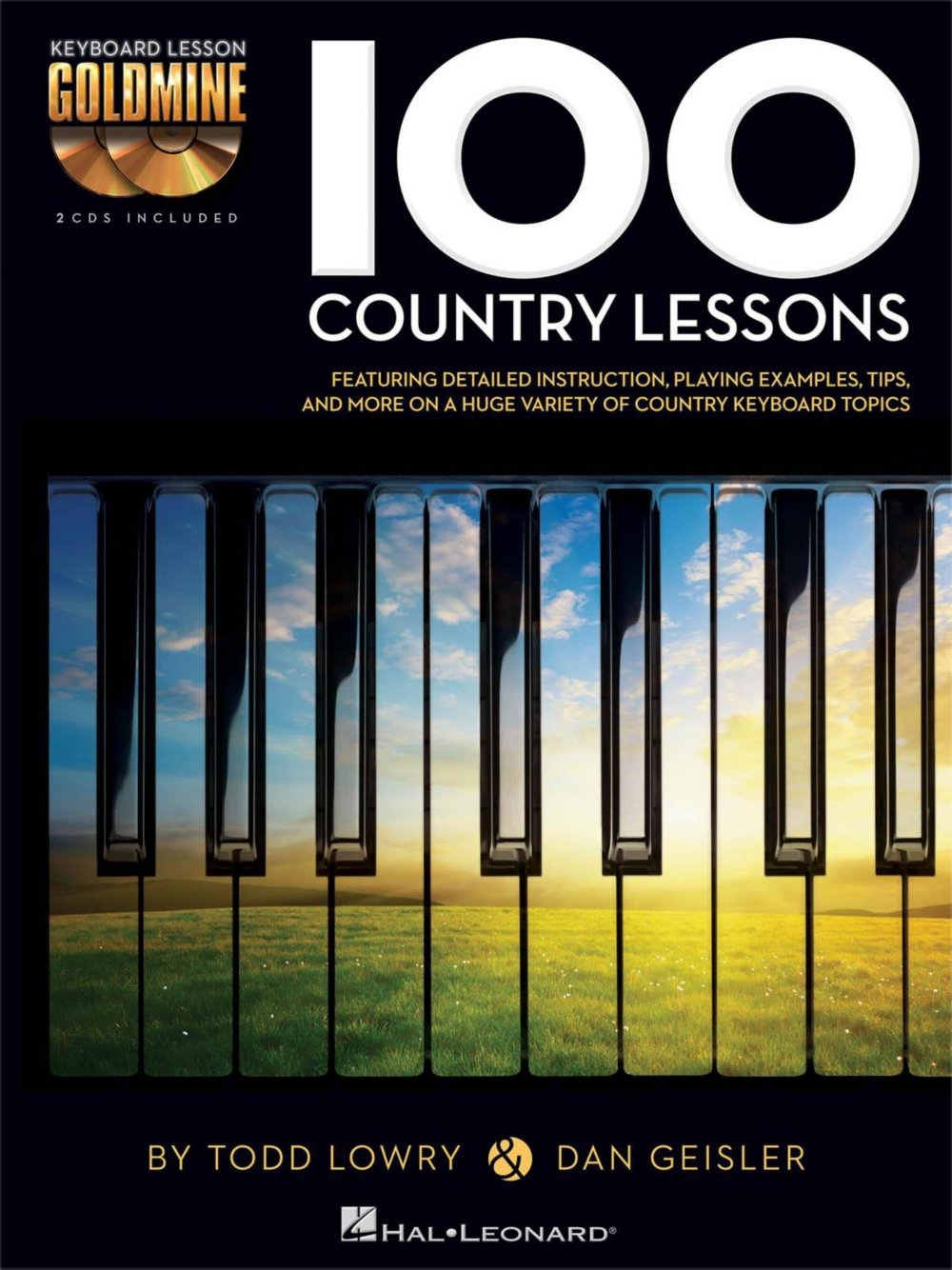 Hal Leonard 100 Country Lessons - Keyboard Lesson Goldmine Series Series  Book/2-CD Pack: Hal Leonard: 0884088949372: Amazon.com: Books