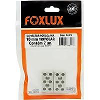 As Conec. Porcelana Tripolar 10Mm C/2 Un Foxlux