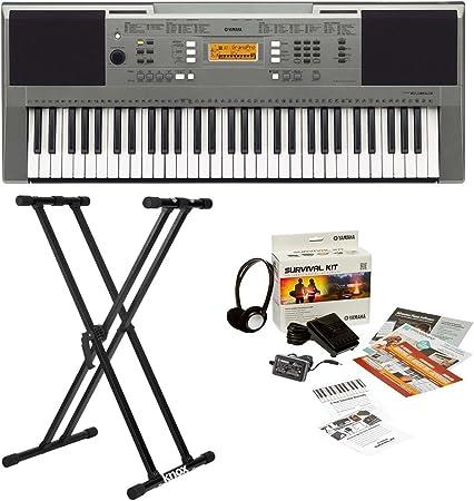 Yamaha PSRE353 Touch Sensitive paquete de teclado portátil de ...