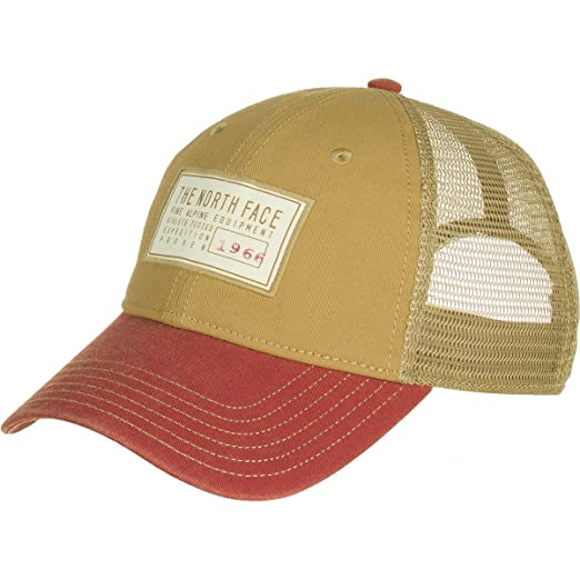 6bb26560dbb Amazon.com  The North Face Broken in Trucker Hat - Kelp Tan   Bossa ...