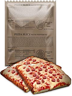 product image for XMRE Pizza Slice with Pepperoni Pizza Slice with Delicious Mozzarella Cheese and Pepperoni (Case of 24)