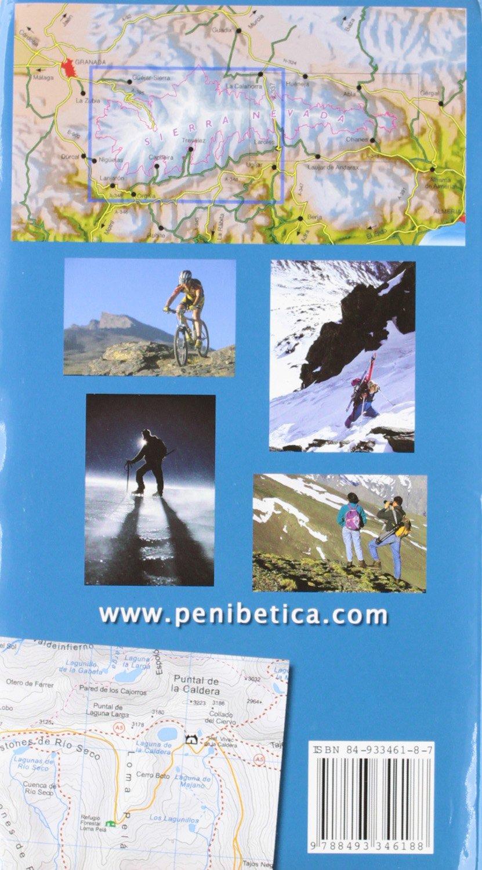 Mapa P.N. Sierra Nevada 1:40000 -Penibetica: Amazon.es: Libros