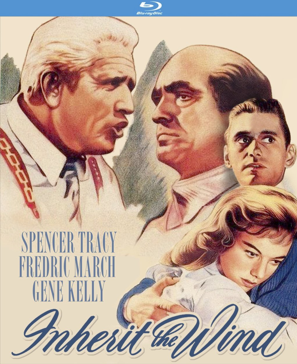 Blu-ray : Inherit the Wind (Blu-ray)